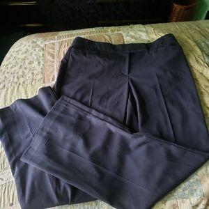 JM Collection Ladies Navy Blue Dress Pants Size 12
